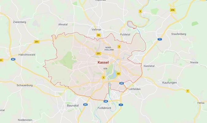 Mapa de Kassel