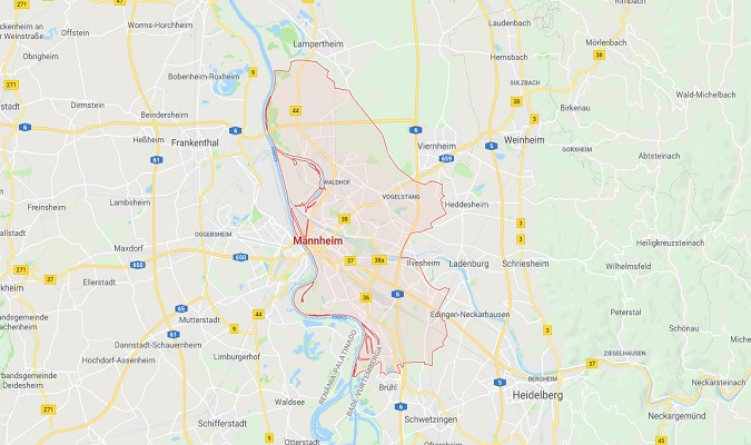 Mapa de Mannheim