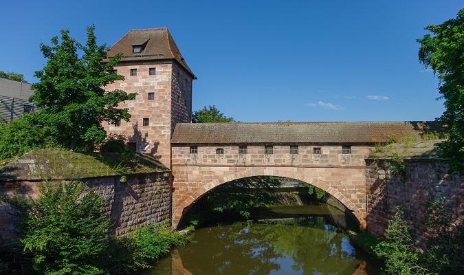 Stadtmauer de Nuremberg